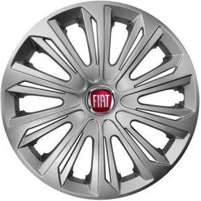 "Radkappen für FIAT 15"", STRONG grau 4 Stück"