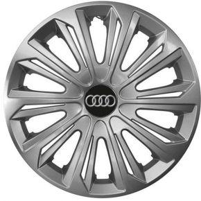 """Radkappen für AUDI 15"""", STRONG grau lackiert 4 Stück"""