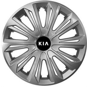 "Radkappen für KIA 15"", STRONG grau lackiert 4 Stück"