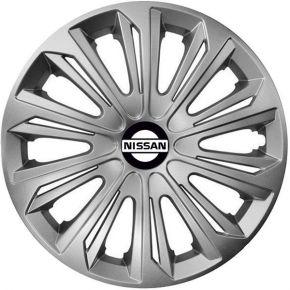 "Radkappen für NISSAN 15"", STRONG grau 4 Stück"