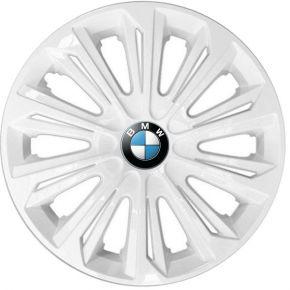"""Radkappen für BMW 15"""", STRONG weiß lackiert 4 Stück"""