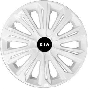 """Radkappen für KIA 15"""", STRONG weiß lackiert 4 Stück"""