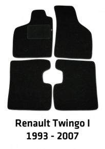Textil Fußmatten für Renault Twingo I, 1993-2007