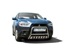 Frontbügel Frontschutzbügel Bullbar Steeler für Mitsubishi ASX 2010-2013 Modell S