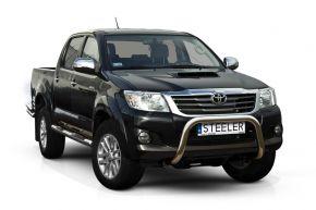 Frontbügel Frontschutzbügel Bullbar Steeler für Toyota Hilux 2005-2011-2015 Modell U