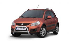 Frontbügel Frontschutzbügel Bullbar Steeler für Suzuki SX4 2006-2013 Modell A