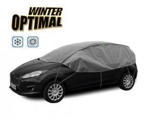 Schutzplane WINTER OPTIMAL für Autofenster und Autodach Subaru Justy 255-275 cm